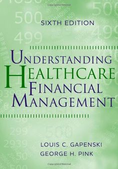 Understanding Healthcare Financial Management, Sixth Edition by Louis C. Gapenski. $122.41. Publication: November 26, 2010. 727 pages. Publisher: Health Administration Press; Sixth Edition edition (November 26, 2010). Edition - Sixth Edition. Author: Louis C. Gapenski