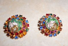 Vintage Charm  Clip Earings by TrendyCharm on Etsy, $12.00
