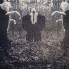 death art Black and White satan satanic baphomet occult occultism Fall Inspiration, Art Magique, Creepy Images, Elfa, Psy Art, Season Of The Witch, Mystique, Witch Aesthetic, Dark Photography
