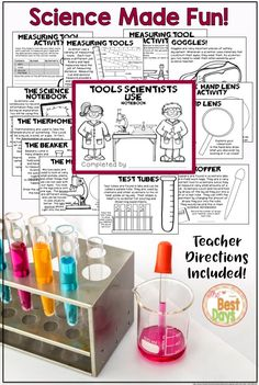 Are you needing to teach The Nature of Science to your students? This combines experiments to address The Nature of Science for each tool that Scientists use! Young Scientists will have fun experiencing all the joys of Science in your classroom! Get it now at The Best Days!