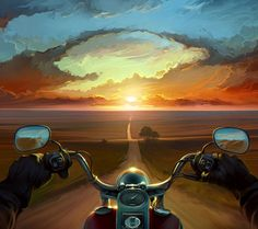 Ideas Motorcycle Art Painting Harley Davidson David Mann For 2020 Moto Wallpapers, Cool Wallpapers For Phones, Wallpapers Android, Motorcycle Art, Bike Art, Mobile Wallpaper, Wallpaper Backgrounds, David Mann Art, Helmet Tattoo