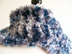 I just listed Blue and White Scarf by Annesknits on The CraftStar #thecraftstar #uniquegifts