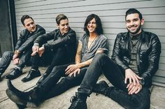 "I LITERALLY SCREAMED YELLED AND I LISTEN TO IT A LOT BECAUSE IM ADDICTED TO THE SONG <3 YOU SLEEPING WITH SIRENS <# THX FOR THE NEW SONG <3 :) Sleeping With Sirens release new song, ""Kick Me"""