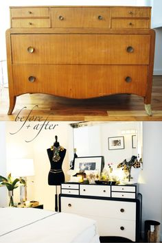 how to update thrift store furniture