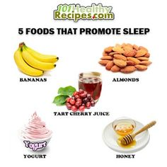 Five foods that promote sleep: Get better health at: http://www.greenthickies.com