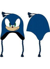 Sonic the Hedgehog big face laplander i designed for Bioworld. Available at Hastings