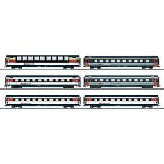 Märklin Personenwagen 43671 H0 6er-Set EC-Wagen der SBB im Conrad Online Shop   498679