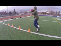 Flag Football Drills, Baseball Hitting Drills, Football 101, Football Workouts, Football Players, Endurance Training, Speed Training, Training Tips, Hip Mobility