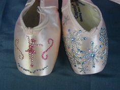 Cappezio Pointe Shoes Ballet Slippers Decorative Blinged Wall Door Decoration