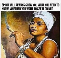 Learn to pay attention to the signs💜 Ancestral Voices FREE Video E-course on African Spirituality available now. See link in bio to… Awakening Quotes, Spiritual Awakening, Spiritual Wisdom, Spiritual Growth, Spiritual Photos, Spiritual Beliefs, Spiritual Healer, Spiritual Wellness, Black Love Art
