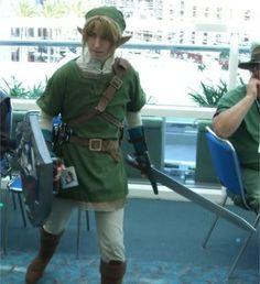 Image detail for -Link Zelda Costume Link Zelda Costume, Legend Of Zelda Costume, Mario Halloween Costumes, Halloween Ideas, Link Cosplay, Cosplay Costumes, Cosplay Ideas, Homemade Costumes, Super Mario