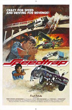 Speedtrap  #carsploitation #vintage #poster