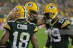aa4c885d8 Aaron Rodgers Photos - Kansas City Chiefs v Green Bay Packers Randall Cobb