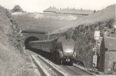 The Dwight D Eisenhower leaving Shildon Tunnel (south portal) in 1962