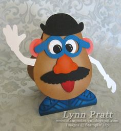Mr. Potato Head punch art  Stampin' Up!