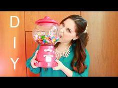 ▶ DIY- Maquina de chicles o dulces/ REGALO ORIGINAL - YouTube