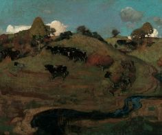 George Henry, A Galloway Landscape, 1889 Kelvingrove Art Gallery and Museum