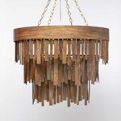 Tilda wood chandelier tonic home home design pinterest monte modern deco aged brass chandelier with metal fringe and 5 lights aloadofball Gallery