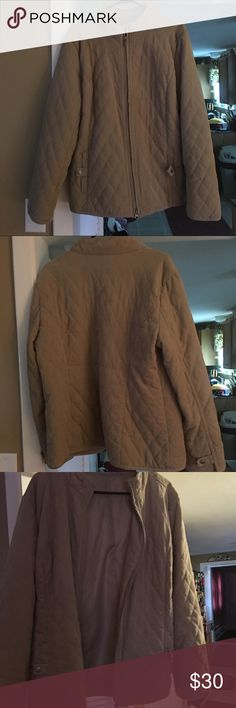 Croft & Barrel Quilted Jacket! Croft & Barrel Quilted Jacket! Size Large like new! Worn just once and has been in my closet for the past couple of years. croft & barrow Jackets & Coats