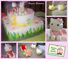 la prima torta per il compleanno della mia piccola bimba Eleonora