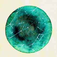 Spring Constellation Print by elisemahanfineart on Etsy