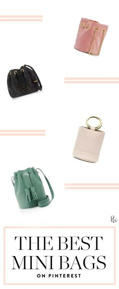 c88253024d32 The Mini Bucket Bags Everyone s Buying Now