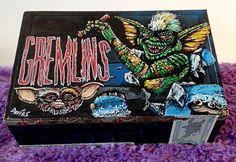 Custom Hand Painted Cigar Box Art – Gremlins – Horror Movie Décor – Horror – Cigar Box – Smoking Decor - Stash Box - Jewelry Box - Smoke Box by TimothyDaviesArt on Etsy