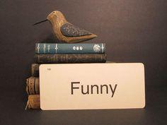 Vintage Flash Card Funny
