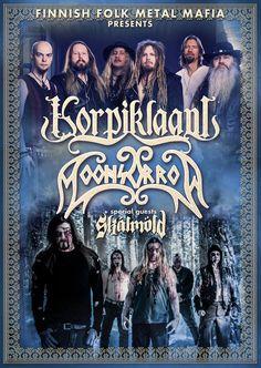 GoRockfest.Com: SKÁLMÖLD Tour Dates 2016