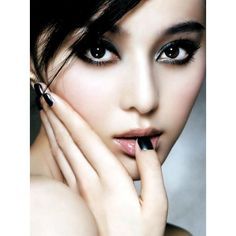 Exotic Fan BingBing beauty femme ღ ❤ liked on Polyvore featuring modelos and supernatural high students