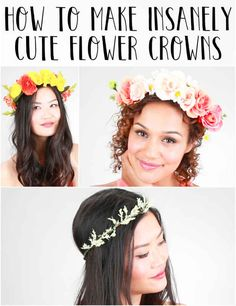 Here's How To Make Insanely Cute Flower Crowns