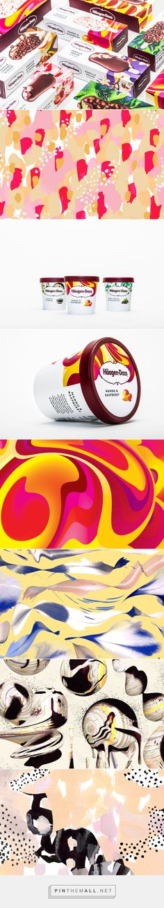 Häagen-Dazs rebrand by Love Creative. Source: Design Week. Pin curated by #SFields99 #packaging #design #inspiration #icecream #branding #rebranding