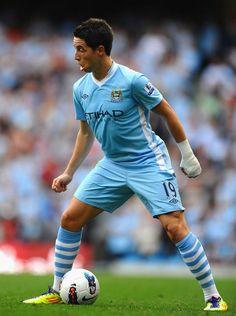 Samir Nasri - in Manchester City - England