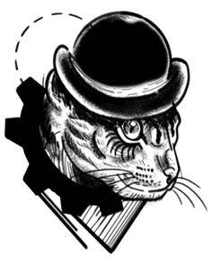 Ouroboros - 'cat clockwork' (by edercarvalho).