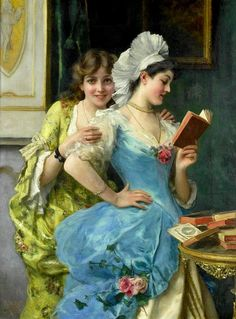 'Le sorelle' di Federico Andreotti  (1847 – 1930)