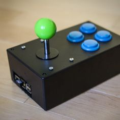 Find out how to make an easy portable arcade console (cabinet) using a Raspberry Pi (and RetroPie)! You can bring it anywhere, plug it into any tv, and play all your favorite classic ROMs. This arcade has 4 general buttons and a joystick, but you can also plug in any old usb enabled controller.  Diagrams and modified code can be found on our Github page.