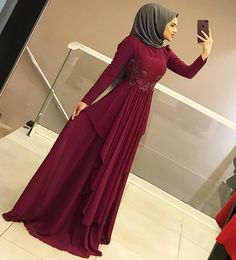 Image may contain: 1 person, standing and shoes Dress Brokat Muslim, Muslim Prom Dress, Hijab Prom Dress, Hijab Gown, Hijab Evening Dress, Evening Dresses, Bridesmaid Dress, Stylish Dresses For Girls, Sexy Dresses