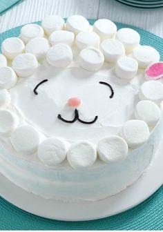 Marshmallow Lamb Cake