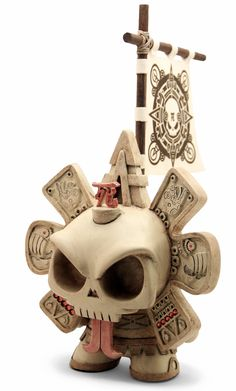 Skullendario Azteca by Huck Gee and The Beast Brothers