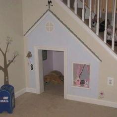 Cute kids play room or dog house