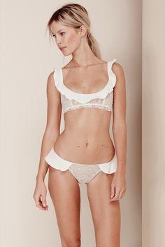St. Tropez Bikini  Bottom in Ivory
