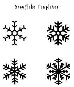 Winter Nails Designs - My Cool Nail Designs Snowflake Printables, Snowflake Template, Snowflake Pattern, Snowflake Images, Snowflake Nail Art, Snowflake Designs, Snowflake Cookies, Frozen Snowflake, Simple Snowflake