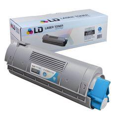 Compatible Okidata 43865719 HY Cyan Laser Toner Cartridge: Save money on the Okidata compatible 43865719, high yield cyan laser toner…
