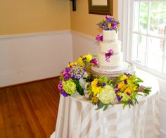 #Garner, #NC Wedding #Venues | Rand-Bryan House | #Wedding #Reception #Catering was provided by Catering by Design of #Cary, NC  #WeddingCake #Cake