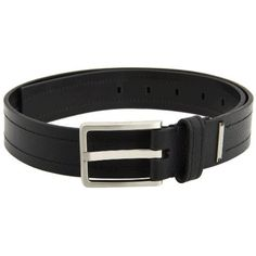 6092319e9ac903 Calvin Klein Men s 35mm Black Stitched Pebble Leather Belt (34) Calvin  Klein.  22.97