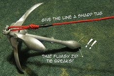 Correct anchor rigging for kayaking is a must Kayak Fishing Gear, Fishing Pontoon, Kayaking Gear, Fishing Rigs, Kayak Camping, Fishing Knots, Canoe And Kayak, Fly Fishing, Fishing 101