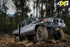 Toyota LandCruiser 79 fully tuned by Marks 4WD - Custom 4x4