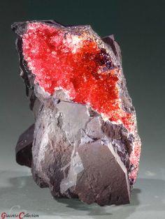 Rodochrosite - Hotazel Mine, Kalahari Manganese Fields, Northern Cape Province, South Africa.