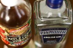Gin & vinegar cocktail. Sounds odd, but OMG.
