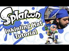 Splatoon Inkling Hat Tutorial - YouTube